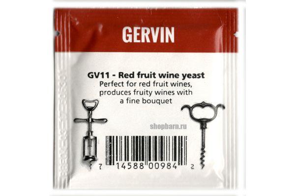 Винные дрожжи Gervin GV11 Red Fruit Wine